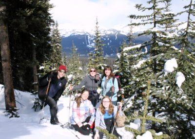Lake Louise Pederson snowshoeing2
